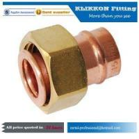 Wholesale china French Copper Swivel Propane Tube Y T Tee Elbow Propane Compression Pipe Fittings from china suppliers