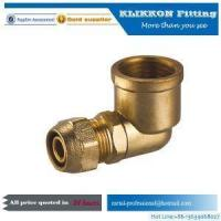 Wholesale china Small Brass Threaded Swivel Propane Tube Y Tee Elbow Propane Compression Pipe Fittings from china suppliers