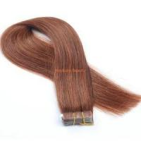 Buy cheap High Quality Remy Indian Human Hair Straight Tape in Hair Extensions TP11 from Wholesalers