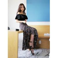 Buy cheap Printed maxi wrap skirt from Wholesalers