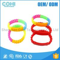 China Promotion gifts custom logo silicone bracelet with charms on sale
