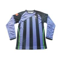 China Sublimation long sleeves soccer jersey on sale