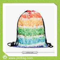 Buy cheap Wholesale Cute Fashion Girl Rainbow Drawstring Backpack from Wholesalers