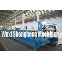 Buy cheap Trapezoidal Roof Wall Panel Cold Roll Forming Machine PLC Controlling from wholesalers