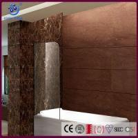 Buy cheap Two Fold Frameless Hinged Shower Screen For Bathtub ,8mm Clear Glass,Chrome Finish (KD3203T) from Wholesalers