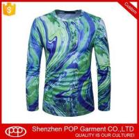 China leisure long sleeve single jersey colorfull mens t shirt on sale