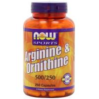 China NOW Foods L-arginine/ornithine, 250 Capsules on sale