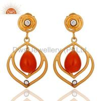 Wholesale 925 Silver Moonstone Drop Earring from china suppliers