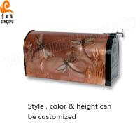 China Copper Embossed Mailbox on sale
