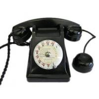Buy cheap Culture French Black Bakelite Phone from Wholesalers