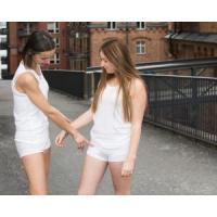Buy cheap InsulWear-Boxer Panties-Women-White - Clothing/Underwear for Pump Users from Wholesalers