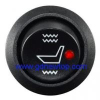 China Round seat heater switch Aftermarket heated seat switch universal on sale