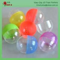 Wholesale Cheap Price Mixed Color Plastic Capsule Toy Ball 4.8*5.6cm Oval Shape Capsule from china suppliers