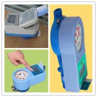 Wholesale PPO Material IC Card Water Prepaid Meters , 15mm - 25mm Household Water Meter Touch Type from china suppliers