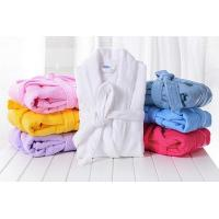Wholesale Thick Cotton Terry Cloth Robes Customised, Unisex Adults Bathrobes Sets Supplier from china suppliers