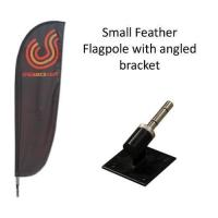 Flag Pole Wall Brackets For Flying Banner