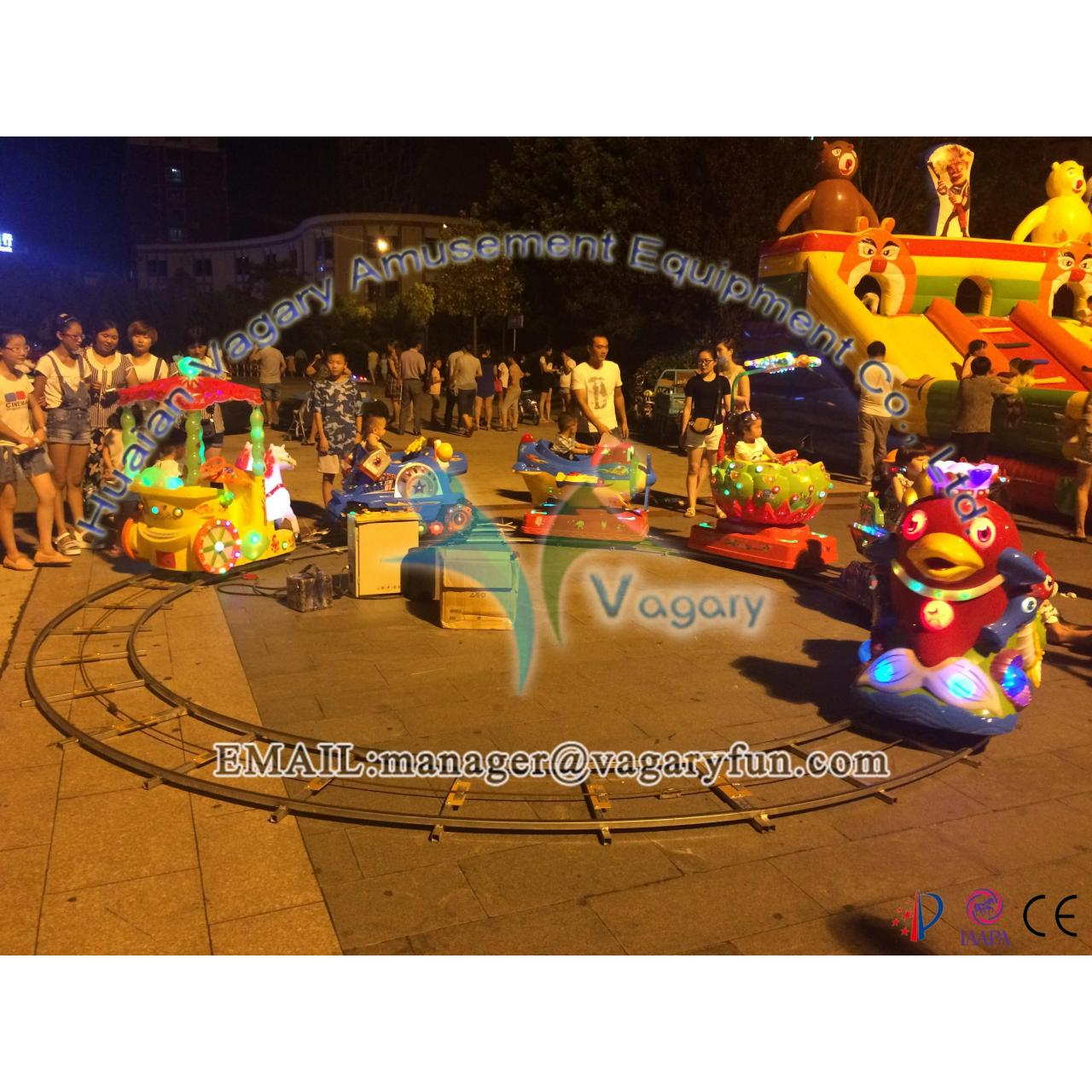 Wholesale China manufacturer Amusement Fun Electric Track Kids Cartoon Train from china suppliers