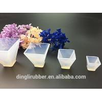 Wholesale Transparent pyramids-Shape Silicone Moulds Mold Resin Jewell from china suppliers