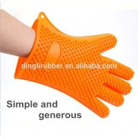 Wholesale wholesale heat resistant Silicone oven mitt hand gloves for from china suppliers
