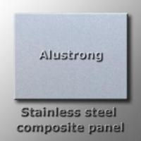 Stainless steel aluminum composite panel