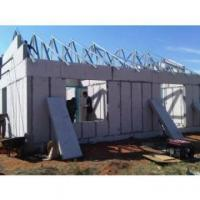 China Low Cost Concrete Prefabricated House With Cement Sandwich Panel on sale