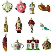 China Old World Christmas Bride's Collection Ornament Box Set on sale