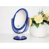 China Chrome bathroom makeup mirror with swivel suction cup on sale