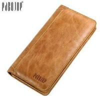 China Genuine Leather Cool Men Wallet Fashion Brand No Zipper Design Men Wallet with Money Clip Wallet Sty on sale