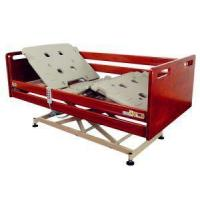 Buy cheap Nuring Bed with Extra Low Bed Frame with Full Size Aluminum Side Rail for Safety from Wholesalers