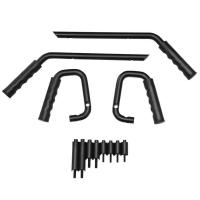 Front Rear Grab Handle Bar Kit for 2007-2017 Jeep Wrangler J