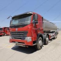 Buy cheap HOWO A7 25000 Litres Gasoline|Oil Trucks With Stainless Steel Oil Tanks from wholesalers