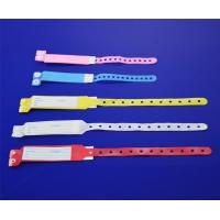 China Disposable insert card ID bracelet on sale