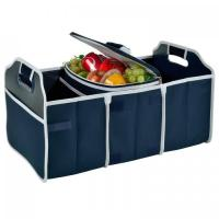 Wholesale Original Folding Trunk Organizer with Cooler by Picnic at Ascot - Navy from china suppliers