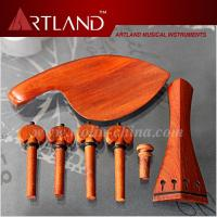 China Jujube wood Violin Fitting Including Tailpiece, Chin Rest, Peg, Endpin (VF103) on sale