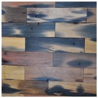 China A15601 - Reclaimed Wood Wall Paneling Interior Wall Tiles 4 X 16 In on sale