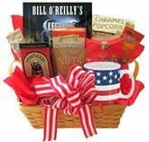 Wholesale All American Gift Basket with Book and Snacks from china suppliers