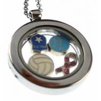 Jewelry by Theme 10mm peace sign slider charm,fit 10mm leather bands.