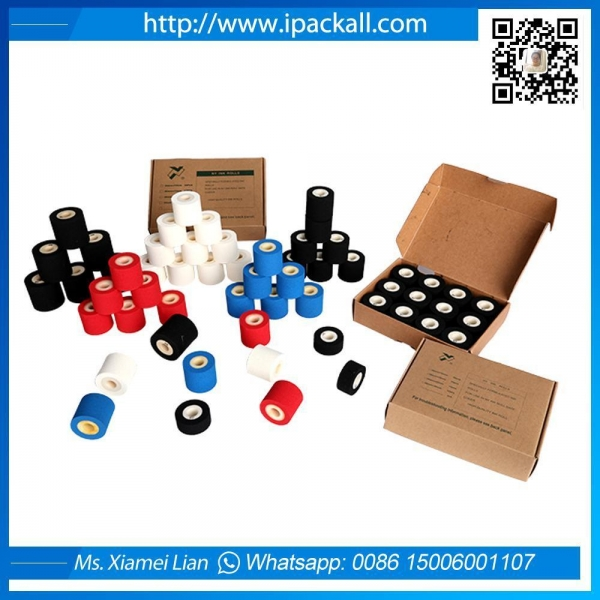 Quality Hot Soild Red White Black Blue Ink Roll for sale