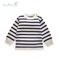 Buy cheap Fashion Stripe Sweater Design Baby Boy Sweaters from wholesalers