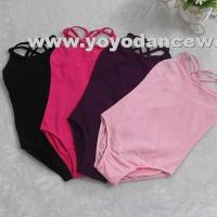 Wholesale LEO009Double Strap Camisole Leotard from china suppliers