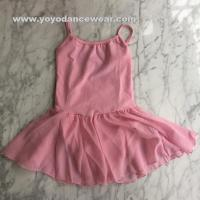 Wholesale LEO011Camisole leotard with chiffon skirt from china suppliers