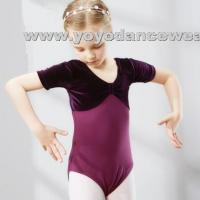Wholesale C0028Soft Velvet Patchwork Leotards from china suppliers