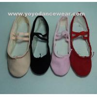Buy cheap BA013Split Sole Canvas Ballet Shoes from wholesalers