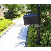 China Custom class forged iron products mailbox on sale