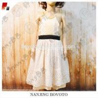 Wholesale Elegant party dress champagne lace dress from china suppliers