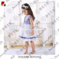 Wholesale girl puffy dress girl boutique style dots dress from china suppliers