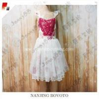 Wholesale summer elegant dollcake floral printed dress from china suppliers