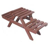 China WPC Garden Picnic Table and Chair Set for 2 People on sale