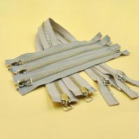 China Separating Zipper Heavy Duty Metal Open Ended Two Way High Quality 5# Zipper for Clothing Zips on sale