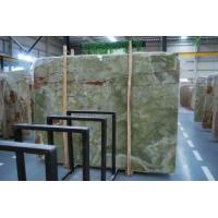 China Ancient Jade Green Onyx Marble Slab Tile on sale